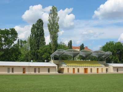 Budapest (Mátyásföld), Sports club - dressing rooms and stand